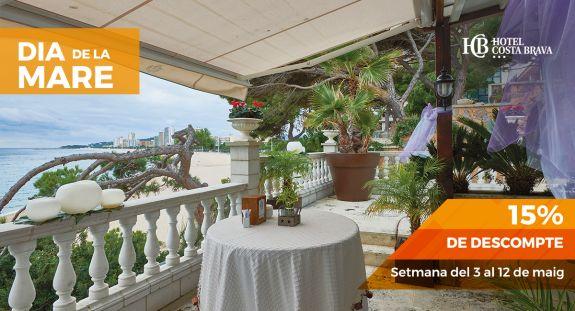 Regala l'Hotel Costa Brava de Platja d'Aro pel Dia de la Mare amb un 15% de descompte
