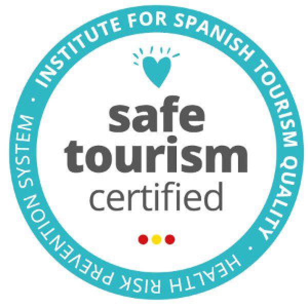 """Dels primers en certificar-nos en """"safe tourism"""""""